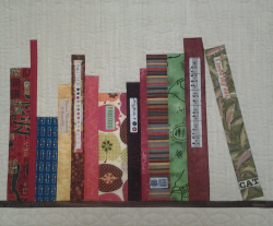 S. Gustafson mini book quilt from Don't Call Me Betsy