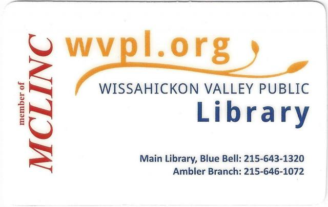 Get a WVPL Library Card